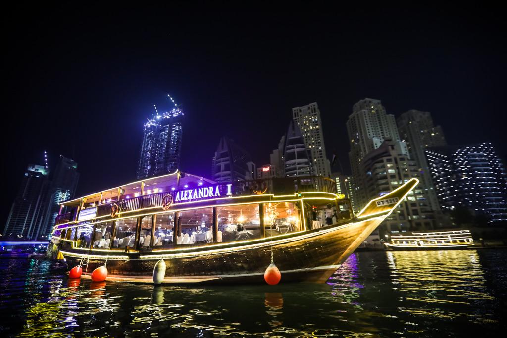 Лодка дубай марина покупка апартаментов в дубае